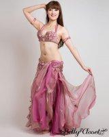 【Eman Zaki】オーダーメイド ふわふわ2色使いスカートがロマンティックな雰囲気☆細部の装飾までこだわっています