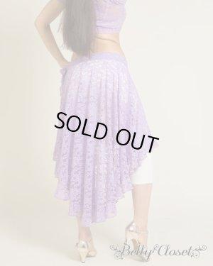 画像3: 【Polina】ハフラにも使える!アシメトリーなスカートがエレガント♡トップス&ヒップスカートの2点セット