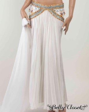 画像4: 【Eman Zaki】オーダーメイド 珍しいプリーツタイプのスカート&色とりどりのビジューがアラビアンな雰囲気