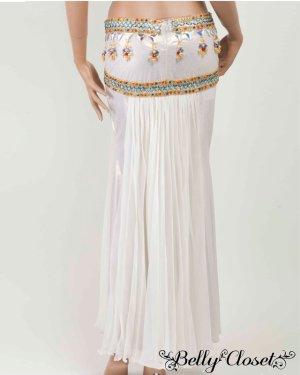 画像5: 【Eman Zaki】オーダーメイド 珍しいプリーツタイプのスカート&色とりどりのビジューがアラビアンな雰囲気