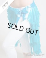 【ヒップスカーフ】 ロングセンタータッセル スカイブルー 〔レターパックライト360円OK〕