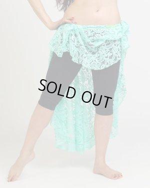画像4: 【Polina】 ベリクロ特注!アシメトリースカートが可愛い!ポリーナミントカラー&下地ベージュのヌード感♪ 2点セット